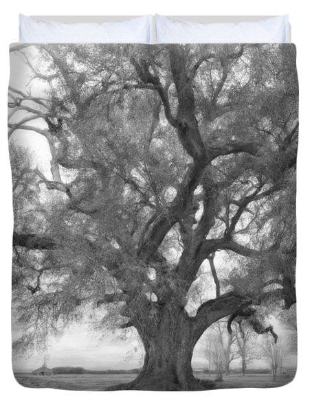 Louisiana Dreamin' monochrome Duvet Cover by Steve Harrington