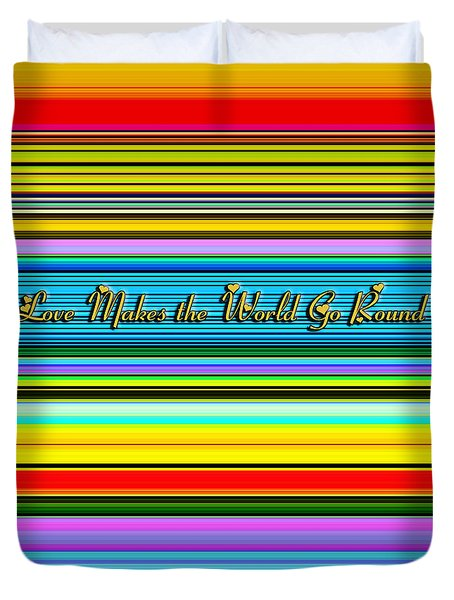 Love Duvet Cover by Chuck Staley