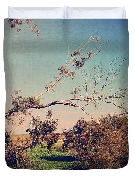 Love Lives On Duvet Cover by Laurie Search