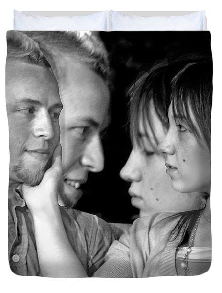 Love Story Duvet Cover by Madeline Ellis