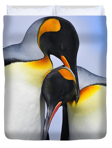 Love Duvet Cover by Tony Beck