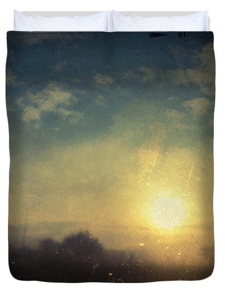 Lovelorn Duvet Cover by Taylan Apukovska