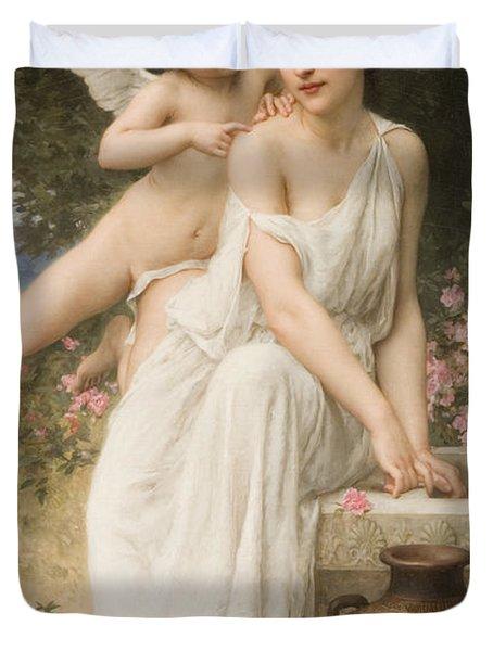 Loves Whisper Duvet Cover by Charles Lenoir