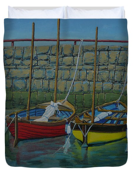 Low Tide Duvet Cover by Anthony Dunphy