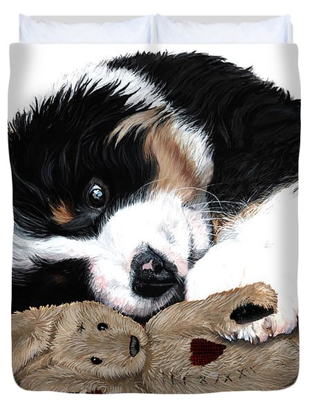 Lullaby Berner and Bunny Duvet Cover by Liane Weyers