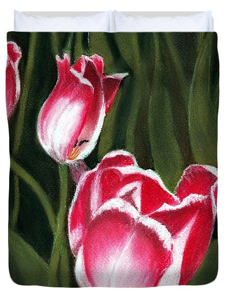 Luminous Duvet Cover by Anastasiya Malakhova