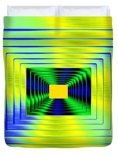 Luminous Energy 18 Duvet Cover by Will Borden