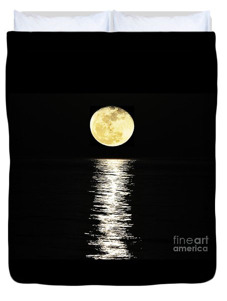 Lunar Lane 03 Duvet Cover by Al Powell Photography USA