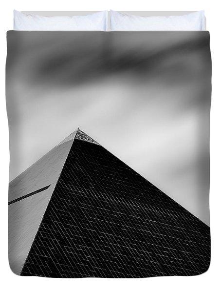 Luxor Pyramid Duvet Cover by Dave Bowman