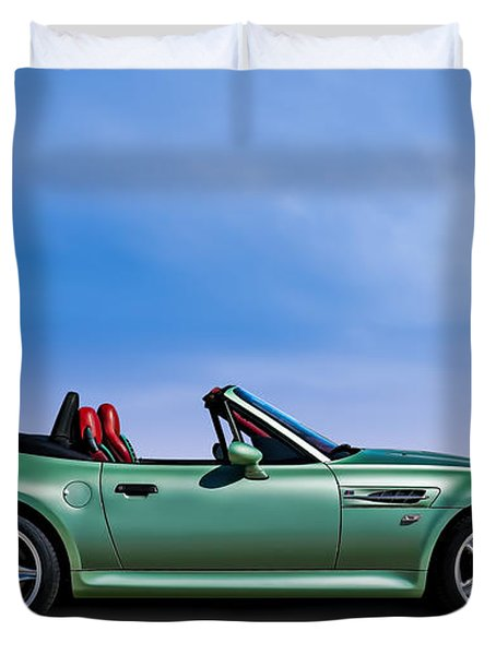 M Topless Duvet Cover by Douglas Pittman
