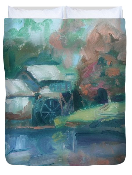 Mabry Mill Duvet Cover by Donna Tuten