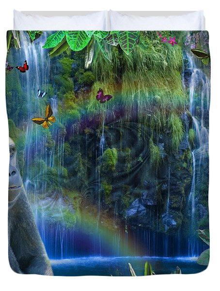 Magic Jungle Duvet Cover by Alixandra Mullins