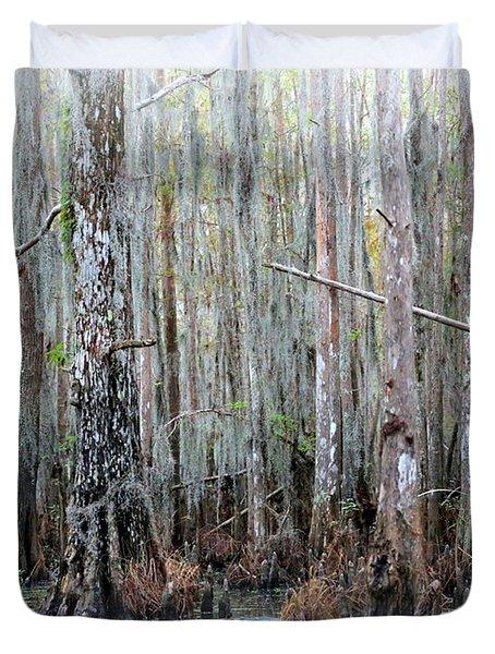 Magical Bayou Duvet Cover by Carol Groenen