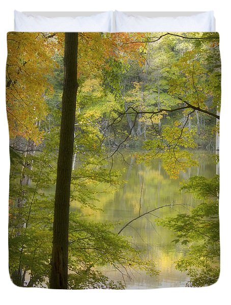 Magical Maplewood Duvet Cover by Penny Meyers