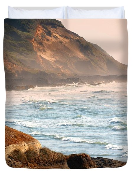 Magnificent Coast  Duvet Cover by Marty Koch
