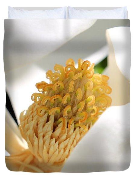 Magnolia Center Duvet Cover by Carol Groenen