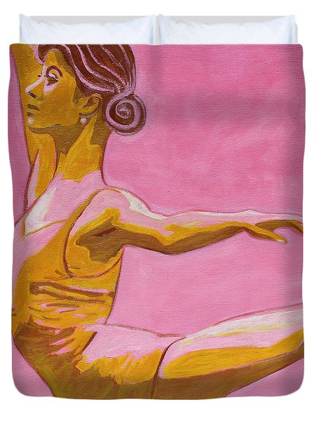 Main Stage V Duvet Cover by Xueling Zou