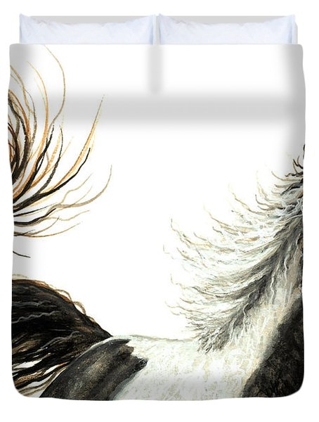 Majestic Horse Series #76 Duvet Cover by AmyLyn Bihrle