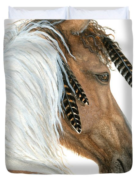 Majestic Horse Series 94 Duvet Cover by AmyLyn Bihrle