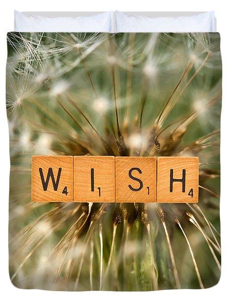 Make A Wish Duvet Cover by  Onyonet  Photo Studios