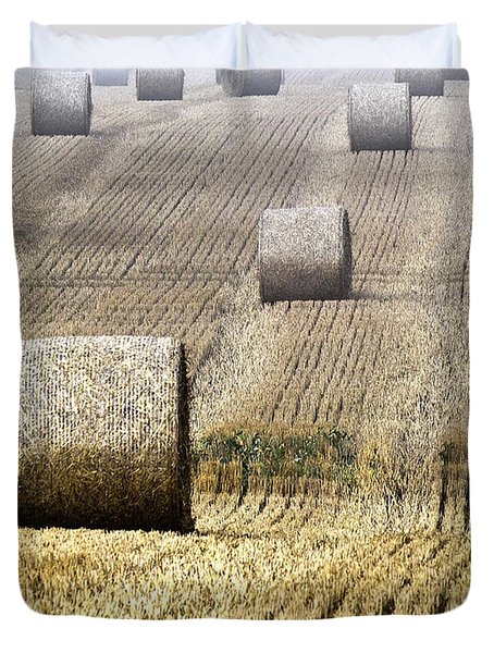 Make Hay While The Sun Shines  Duvet Cover by Heiko Koehrer-Wagner