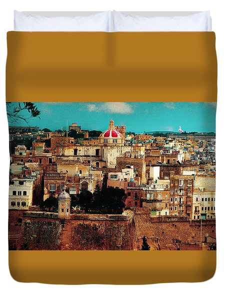 Malta Duvet Cover by Christo Christov