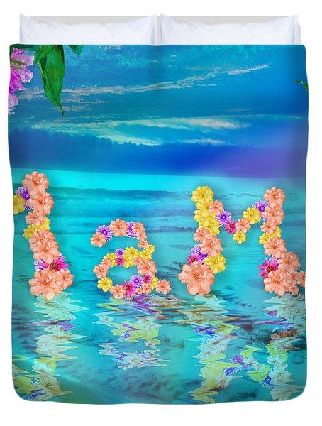 Mama Ocean Duvet Cover by Alixandra Mullins