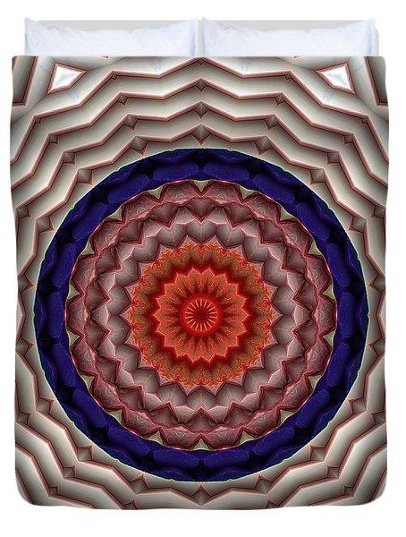 Mandala 10 Duvet Cover by Terry Reynoldson