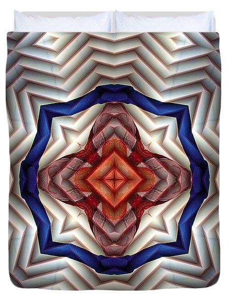Mandala 11 Duvet Cover by Terry Reynoldson