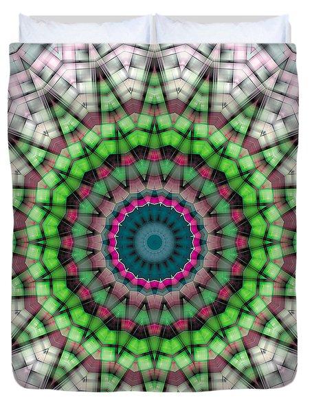 Mandala 26 Duvet Cover by Terry Reynoldson