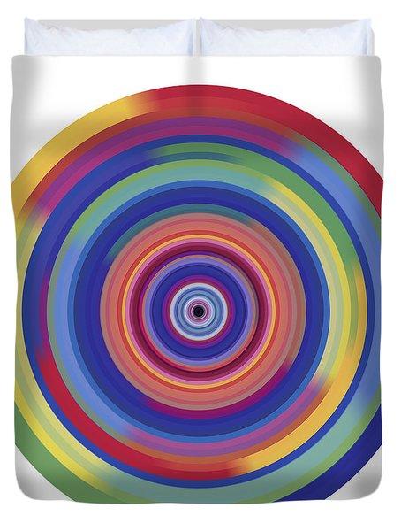Mandala 3 Duvet Cover by Rozita Fogelman