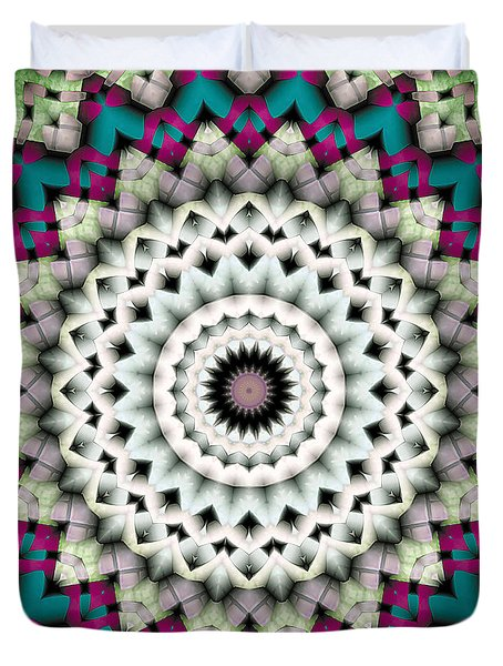 Mandala 36 Duvet Cover by Terry Reynoldson
