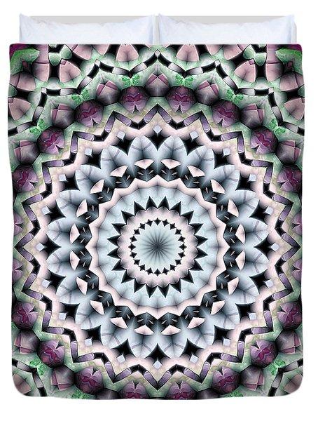 Mandala 40 Duvet Cover by Terry Reynoldson