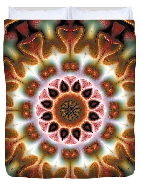 Mandala 67 Duvet Cover by Terry Reynoldson