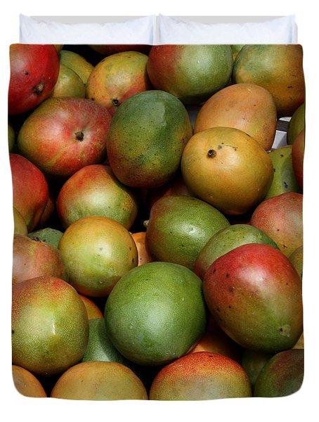 Mangoes Duvet Cover by Carol Groenen