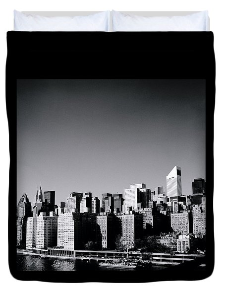 Manhattan Duvet Cover by Shaun Higson