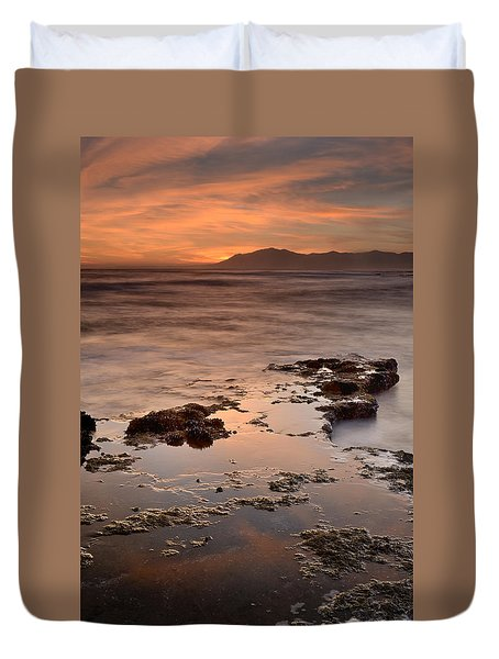 Marbella Spain Duvet Cover by Guido Montanes Castillo