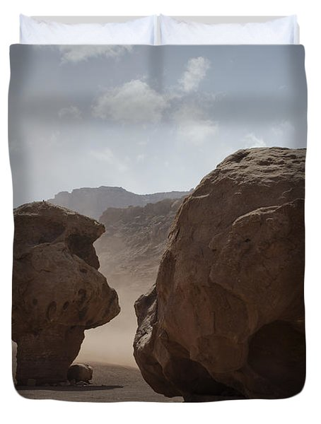 Marble Canyon No. 2 Duvet Cover by David Gordon