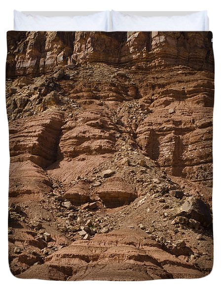 Marble Canyon Vi Duvet Cover by Dave Gordon