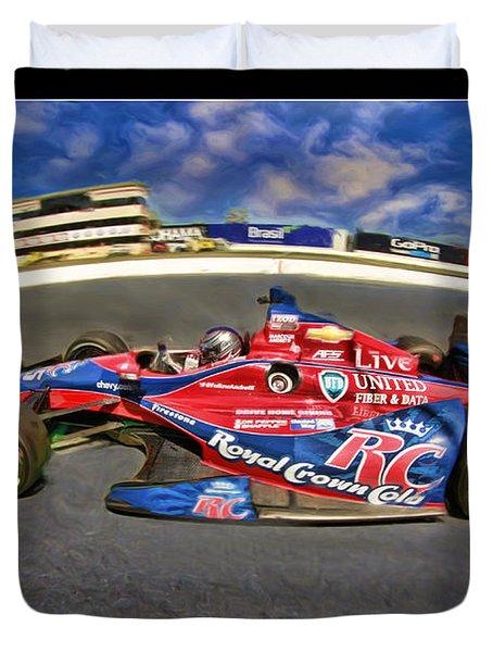Marco Andretti Duvet Cover by Blake Richards