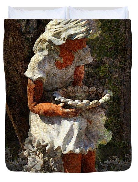 Marguerite Duvet Cover by Carla Parris