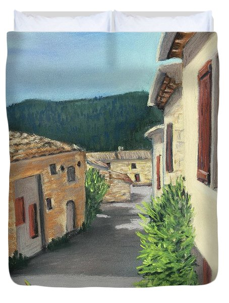 Marignac-en-diois Duvet Cover by Anastasiya Malakhova