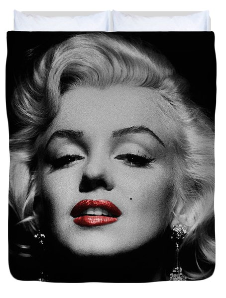 Marilyn Monroe 3 Duvet Cover by Andrew Fare