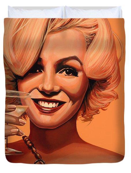 Marilyn Monroe 5 Duvet Cover by Paul  Meijering