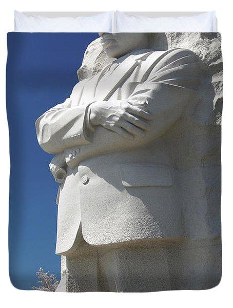 Martin Luther King Jr. Memorial Duvet Cover by Mike McGlothlen