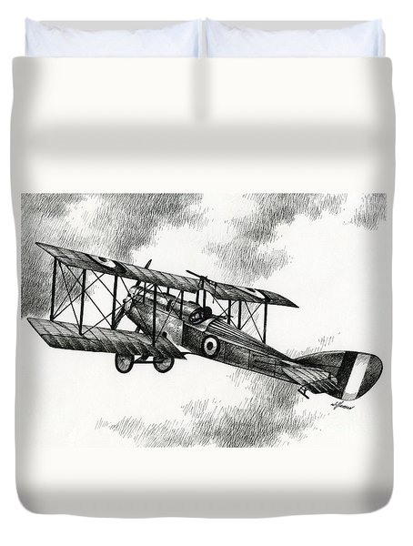 Martinsyde G 100 Duvet Cover by James Williamson