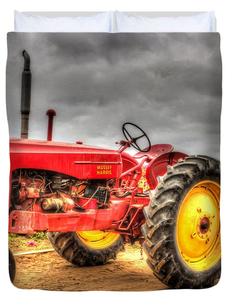 Massey Duvet Cover by Heidi Smith