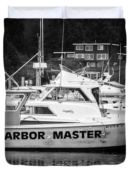 Master of the Harbor Duvet Cover by Melinda Ledsome