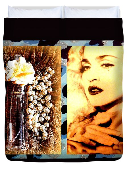 Material Girl Duvet Cover by The Creative Minds Art and Photography