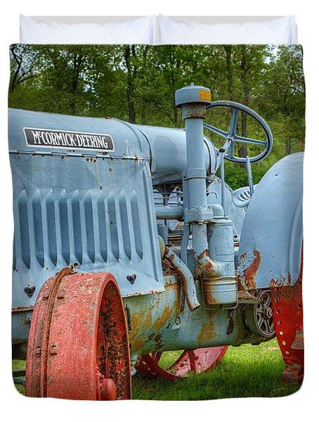 McCormick Deering Duvet Cover by Bill  Wakeley